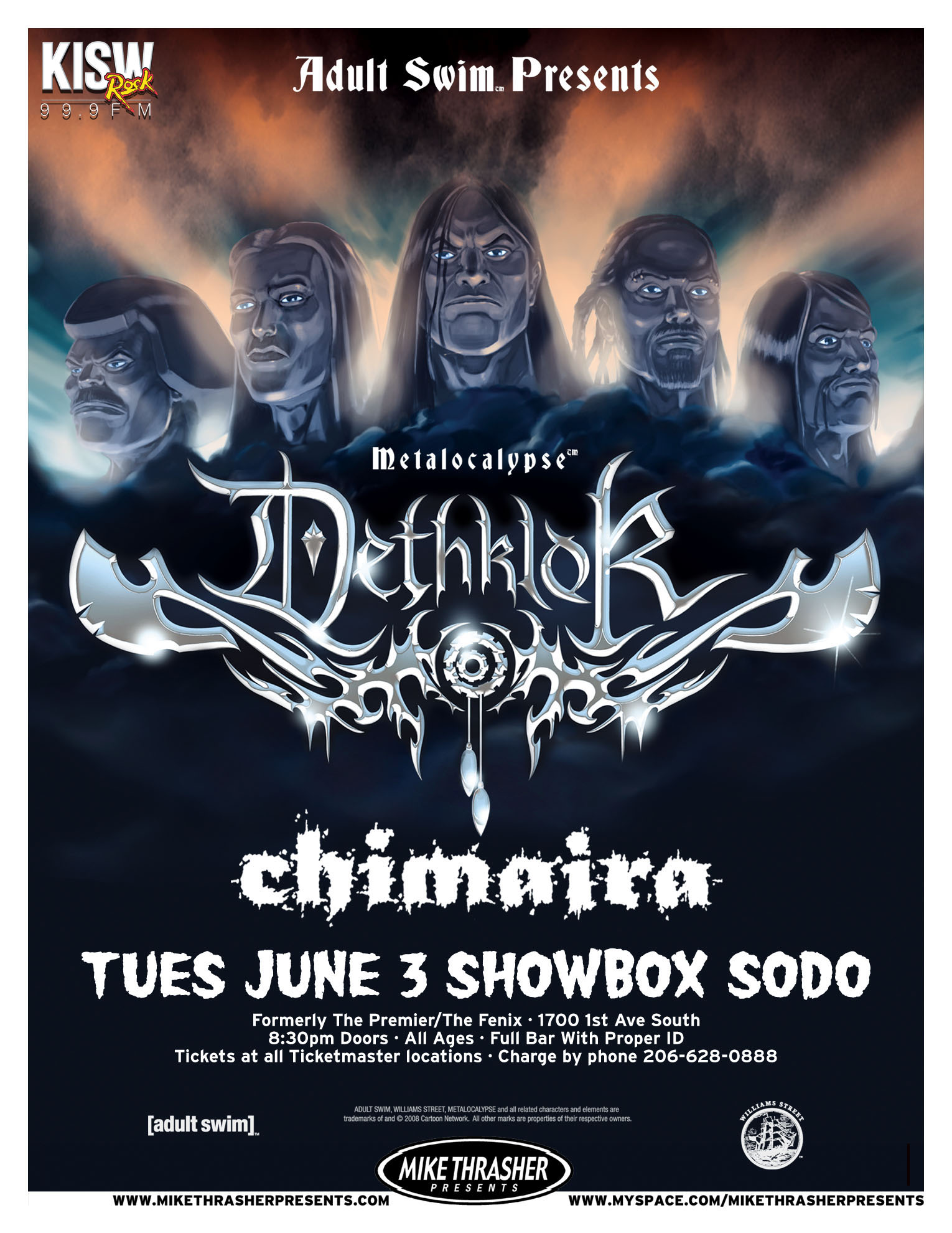 Dethklok Flyer